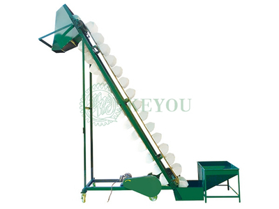 X Slope / Inclined Elevator Conveyor