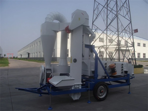paddy rice grain seed cleaner